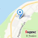 Почтовое отделение №20 на карте Бийска