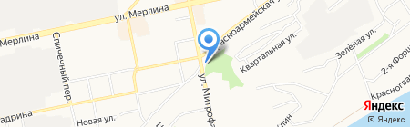 Клаксон на карте Бийска