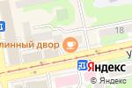 Схема проезда до компании Обновка в Бийске