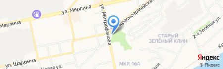 Дикам на карте Бийска