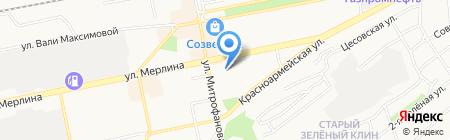 Спецсвязь на карте Бийска