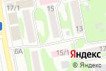 Схема проезда до компании Спецсвязь в Бийске