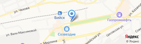 ААА-ВИ на карте Бийска
