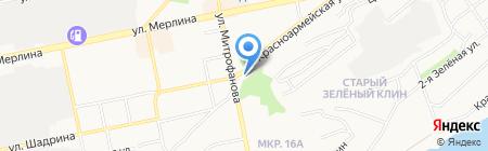 Электротехнический центр на карте Бийска