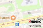 Схема проезда до компании РЭП №6 в Бийске