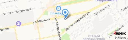 Центр коррекции зрения на карте Бийска