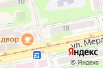 Схема проезда до компании Мамин уголок в Бийске