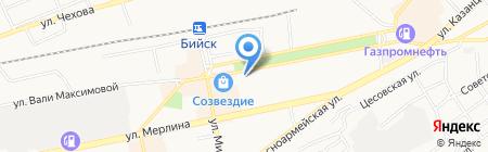 Нотариус Шипилова Е.В. на карте Бийска