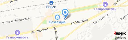 Детский сад №40 на карте Бийска