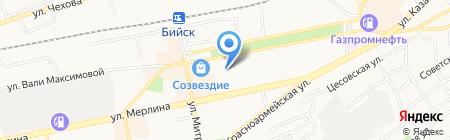 ЭТМ на карте Бийска