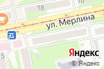 Схема проезда до компании ЕвроАвто в Бийске