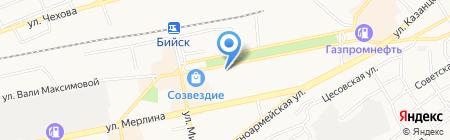 Антиквар на карте Бийска