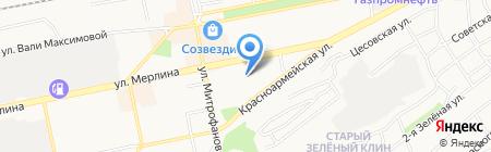 Детский сад №67 на карте Бийска
