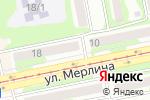 Схема проезда до компании Ермолинские продукты в Бийске