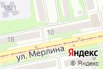 Схема проезда до компании Архитектурно-проектная мастерская Чупрынина в Бийске