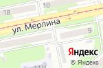 Схема проезда до компании Огонек в Бийске