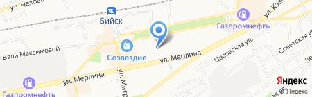 БИЙСКИЙ ГОРОДСКОЙ СОЮЗ ХУДОЖНИКОВ АЛТАЯ на карте Бийска