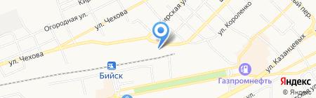 Сфинкс на карте Бийска