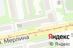 Схема проезда до компании Автополис в Бийске