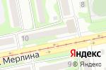 Схема проезда до компании ЭГИДА в Бийске