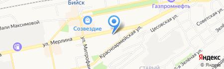 Ярославна на карте Бийска