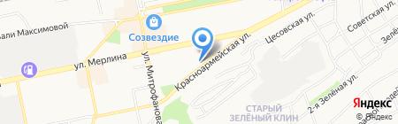 Детская библиотека №5 на карте Бийска