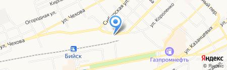 Алейскзернопродукт им. С.Н. Старовойтова на карте Бийска