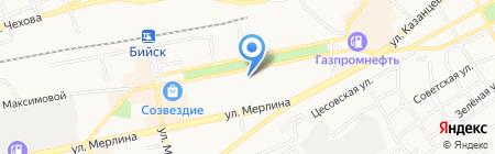 Шин-Киокушинкай каратэ на карте Бийска