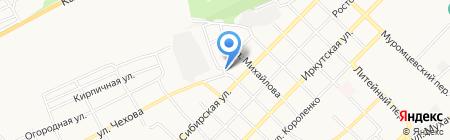Следственный изолятор №2 на карте Бийска
