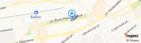 Винни-пух на карте Бийска