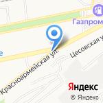 Мастер Трек на карте Бийска