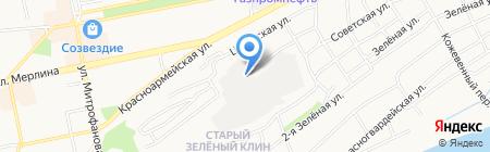 Фасовочно-упаковочный цех на карте Бийска