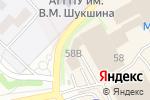 Схема проезда до компании Планета Электрика в Бийске