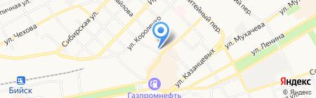 Вита Мир на карте Бийска
