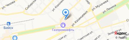 Пан Пивчанский на карте Бийска