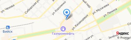 АлтайХимСнаб на карте Бийска