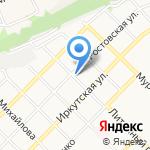 Транспортная компания на карте Бийска