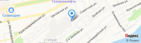 Фрегат на карте Бийска