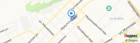Магазин-закусочная на карте Бийска