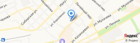 Детский сад №2 на карте Бийска