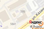 Схема проезда до компании Ирбис в Бийске