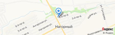 Шубенский на карте Бийска
