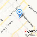 Городская детская больница на карте Бийска