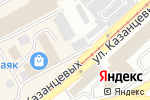 Схема проезда до компании Соблазн в Бийске