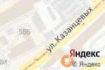 Схема проезда до компании Мабикс Сервис в Бийске