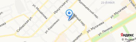 CLUB на карте Бийска