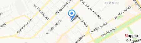 Ближний на карте Бийска
