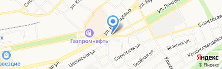 Кавказская кухня на карте Бийска