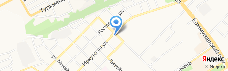 Корзинка Ёлосовых на карте Бийска