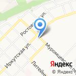 Мастерская по ремонту и установке автостекол на карте Бийска